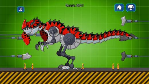 红色暴龙机器恐龙