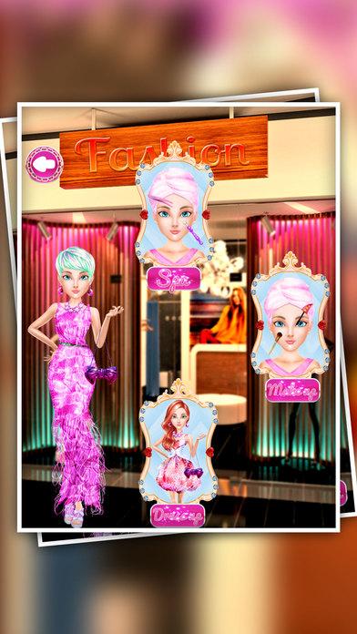 时尚娃娃化妆 - 沙龙换装游戏的女孩和孩子们免费 - 趣味美容院婚礼