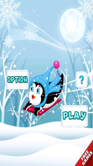 赛跑企鹅-一次令人敬畏的雪追逐冒险的雪撬 免费