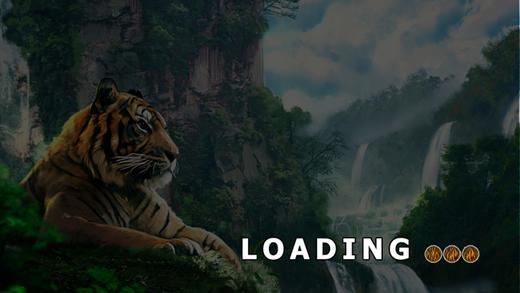 老虎模拟器和野生动物园丛林动物