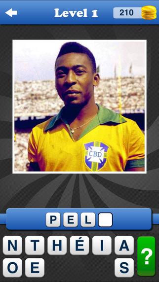 猜足球传奇人物 Who's the Football Legend? 自由足球测验 播放机运动游戏!