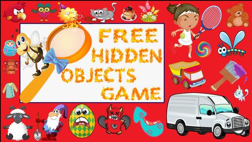 免费隐藏的对象游戏的孩子