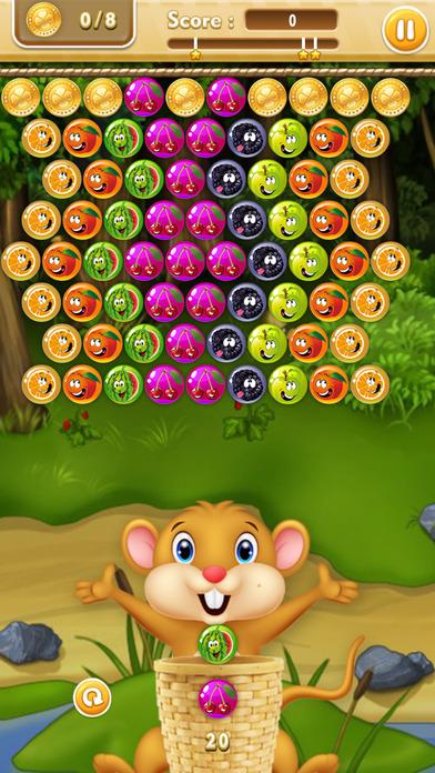 有趣的浆果 - 射击泡泡
