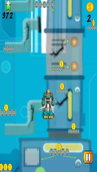 跳跃机器人入侵 - 铁发射逃逸挑战 支付