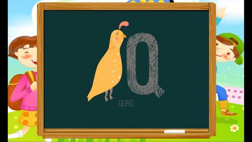 好的ABC孩子学习词汇英语动物