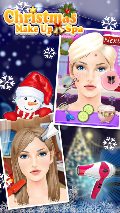 圣诞化妆SPA - 公主时尚沙龙