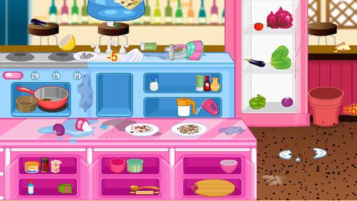 厨房餐厅清理游戏