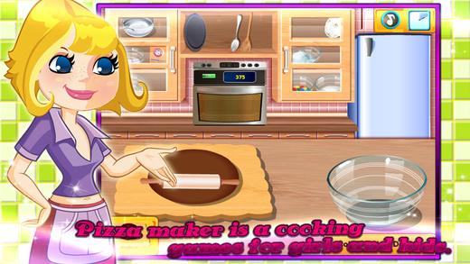 萌娃烹饪游戏-巧克力披萨