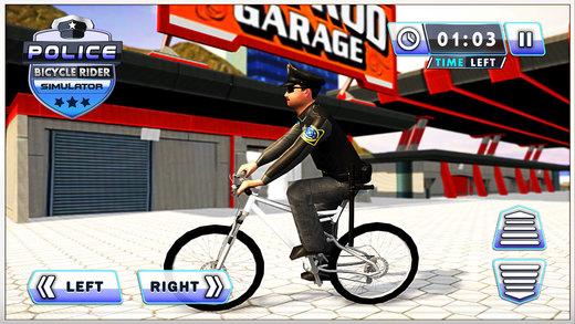 警察自行车车手模拟器&pro自行车追逐