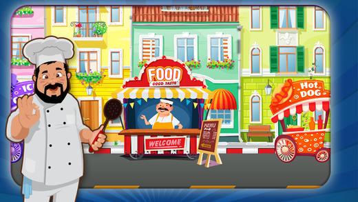 街头食品烹饪mania-乐趣厨房管理