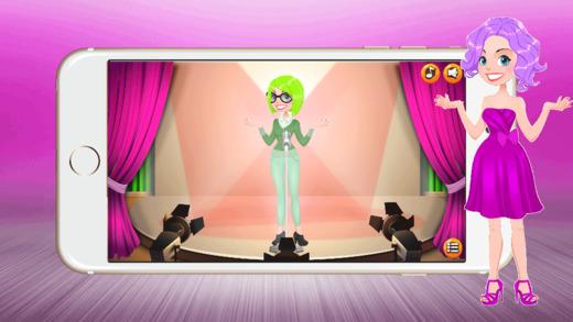 超模打扮成游戏 : 晚礼服的服装真棒对于女孩