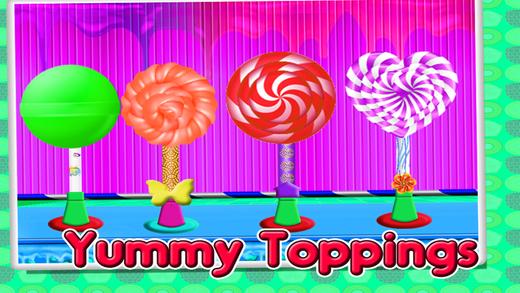 甜 冰 棒棒糖 制造商 – 制作 游戏