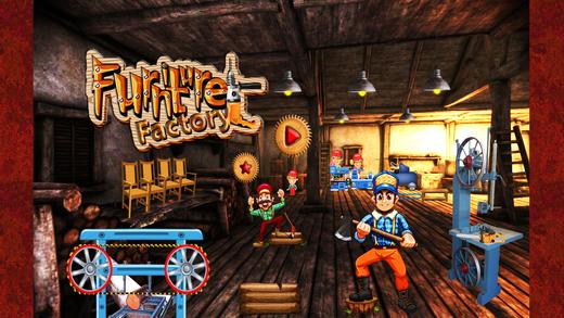 家具厂 - 儿童木匠游戏