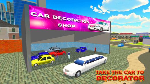 城市新娘豪华轿车模拟器和停车场