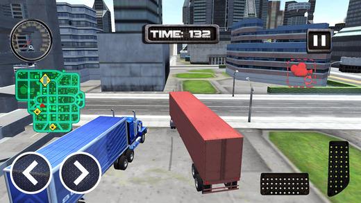 美国重型汽车公园:城市停车游戏