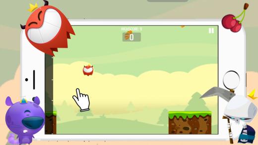 怪物按點擊 - 跳輕鬆的遊戲為兒童