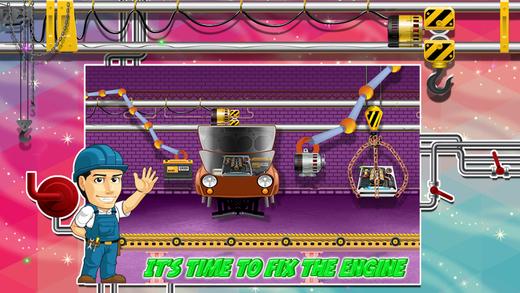 怪物卡车厂 - 疯狂的力学车库