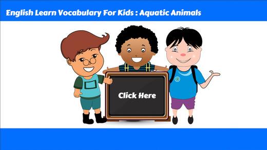 学习英语词汇第1课:为孩子们的学习教育游戏和初学者免费