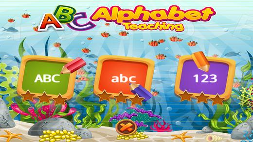 ABC 小天才宝宝学前英语字母写字板