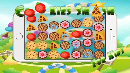 饼干粉碎比赛3益智游戏 - 魔板游戏放松学习的孩子5岁的自由
