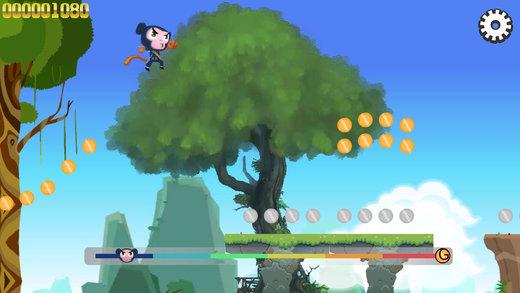 忍者猴子酷跑,经典免费酷跑小游戏