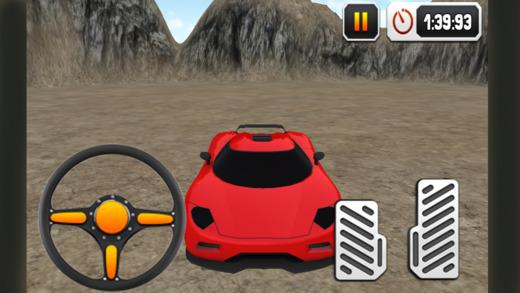 越野跑车和3D疯狂驾驶模拟器