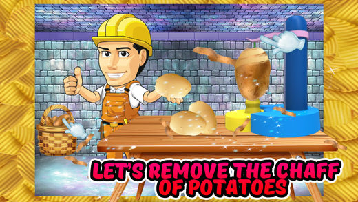 薯片厂 - 烘焙点心在这个食物烹饪游戏小厨师