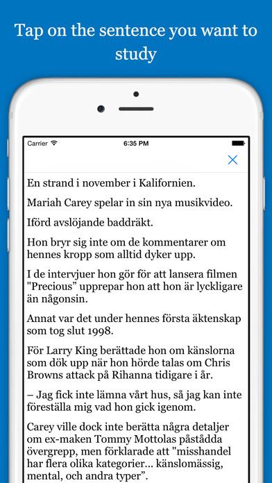 学习瑞典语,浏览网页 - Immersion
