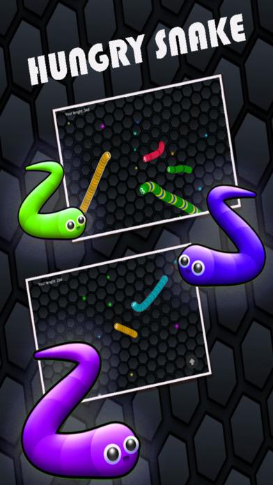 滚石Snake.io饥饱色点:滑行版免费游戏 蚺蛇-I-O-巨大撕裂蛇游戏