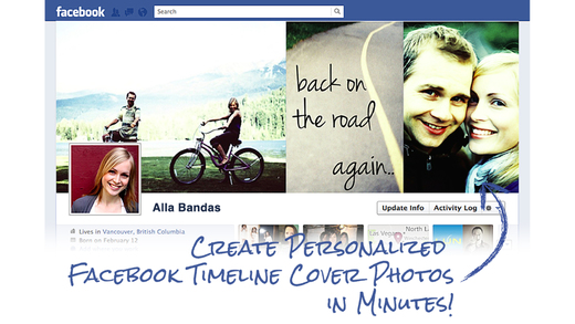 Facebook 封面照制作器 免费版 - Design and create your own custom Facebook profile page covers that reflects your personality!