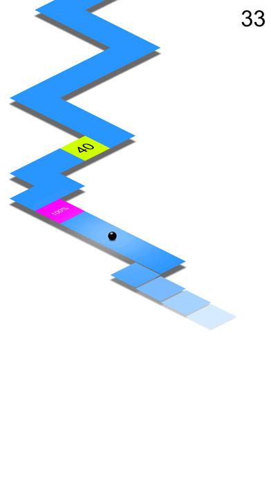 FA漂移 - 点击天空轨道上的极速滚动小球 打发无聊时间经典好玩解闷单机免费小游戏HD