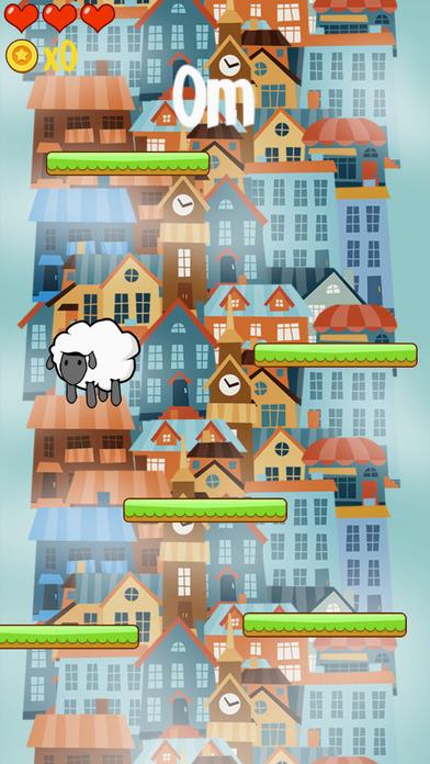 涂鸦羊儿千层跳 - 涂鸦跳重力感应游戏,陀螺仪游戏