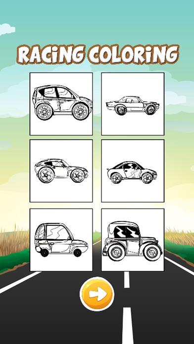 高速赛车图画书为孩子们的游戏