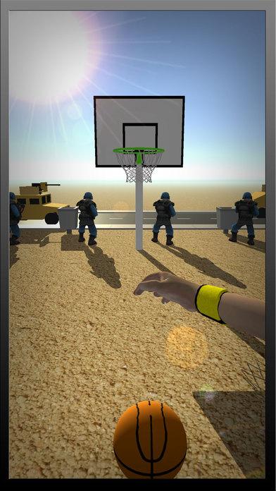 美国男篮在摊牌军事基地