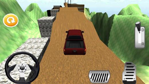 山怪物卡车爬上和驾驶游戏