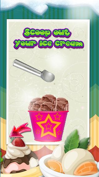 à惊人的冰淇淋机游戏PRO - 创建锥,圣代和甜冰三明治店