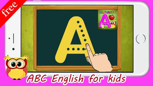 英语学习ABC字母跟踪和拼音学习英语的好方法