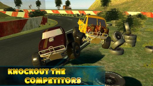 怪物卡车赛车模拟器 - 疯狂驾驶3d