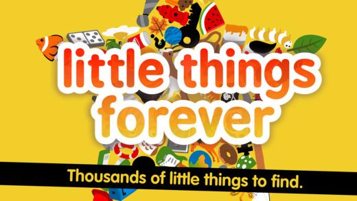 小东西长久远 (Little Things® Forever)