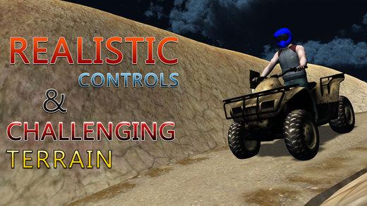 四骑自行车山模拟器 - 4×4越野车或骑赛车模拟游戏