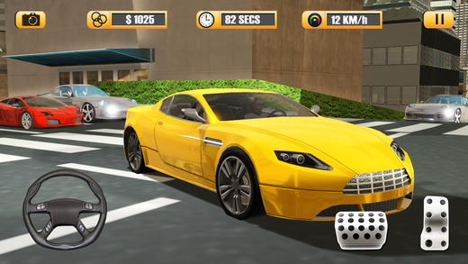疯狂城市出租车司机:纽约模拟器3D游戏