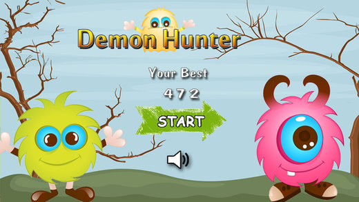 微小的恶魔猎手免费趣味游戏的孩子