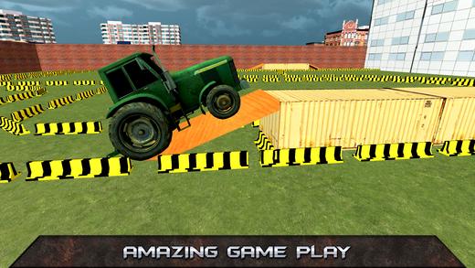 拖拉机停车模拟器2017年 - 驾驶测试游戏