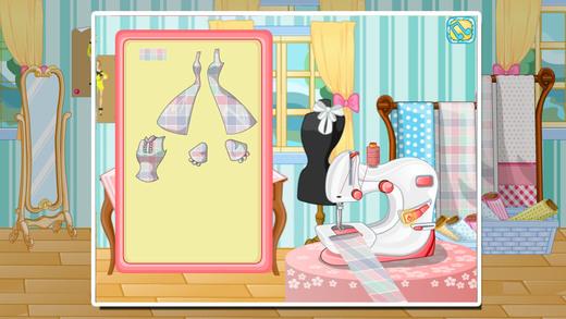 小小时装设计师-公主的礼服裙