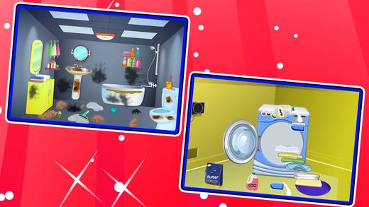 酒店和客房服务清洁 - 管理游戏