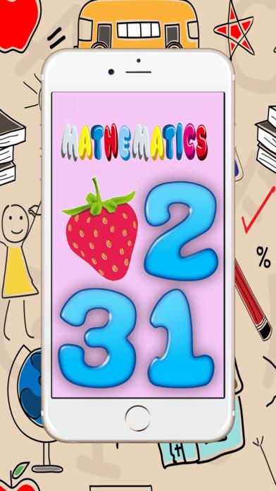 123数学 :了解幼儿园数量的形状和关系的早期教育游戏