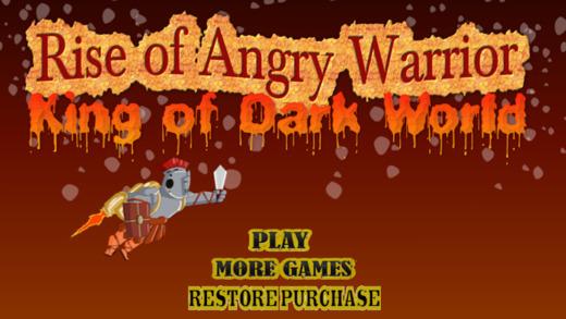 愤怒的崛起战士:黑暗的世界之王
