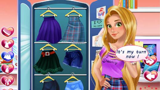 公主高校之恋 - 美女装扮游戏