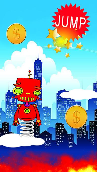 机器人跳钢管
