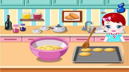 宝宝做饼干